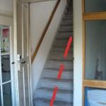 ... um dort eine weitere Treppe anzutreffen, die es auch noch zu erklimmen gilt. Unter Umständen steht die Tür nicht offen, ist aber auch nicht abgeschlossen (z. B. wenn es kalt ist und zieht).