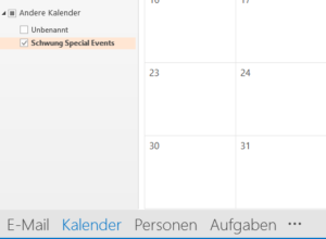 Kalender anzeigen